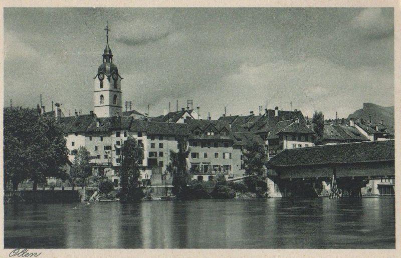 Schweiz - Schweiz - Olten - ca. 1950