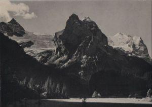 Schweiz - Schweiz - Rosenlaui - Gschwandtenmaad mit Wetterhörnern - ca. 1960