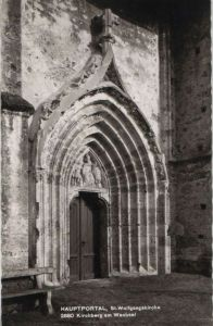 Österreich - Österreich - Kirchberg am Wechsel - St. Wolfgangskirche, Hauptportal - 1972