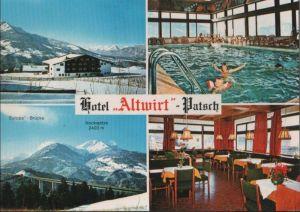 Österreich - Österreich - Patsch - Hotel Altwirt - ca. 1980