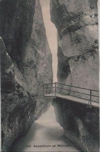 Schweiz - Schweiz - Meiringen - Aareschlucht - ca. 1935
