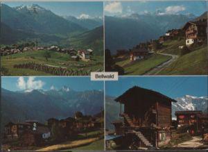 Schweiz - Schweiz - Bellwald - u.a. Weisshorn - ca. 1985