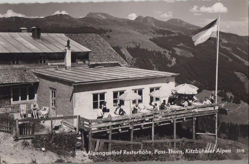 Österreich - Österreich - Resterhöhe - Alpengasthof am Pass-Thurn - 1957