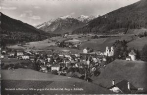 Österreich - Österreich - Steinach am Brenner - gegen das Gschnitztal - 1961