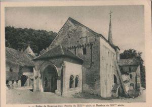 Schweiz - Schweiz - Romainmôtier - Eglise - ca. 1955