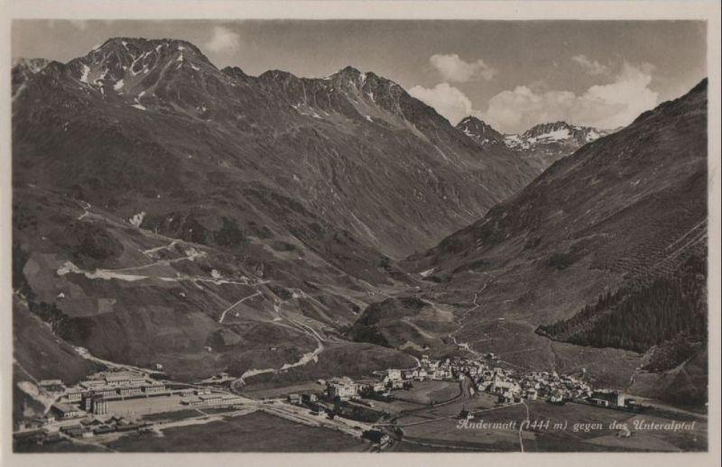 Schweiz - Schweiz - Andermatt - gegen Unteralptal - ca. 1950