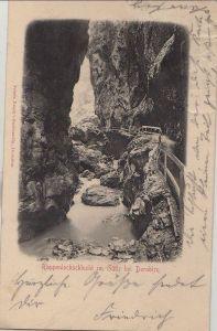 Österreich - Österreich - Dornbirn - Rappenlochschlucht - 1904