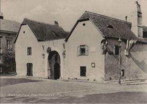 Österreich - Österreich - Wien - Heiligenstadt, Beethoven-Haus, Pfarrplatz - 1963