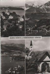 Österreich - Österreich - Maria Wörth - 4 Teilbilder - ca. 1960