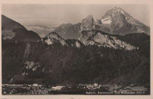 Österreich - Österreich - Hallein - mit Barmsteinen und Watzmann - 1953