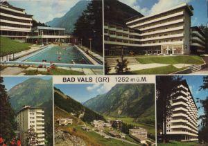 Schweiz - Schweiz - Bad Vals - mit 5 Bildern - 1984