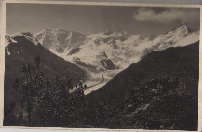 Schweiz - Schweiz - St. Moritz - mit Pontresina - ca. 1950