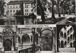 Österreich - Österreich - Spittal an der Drau - Schloss Porcia - ca. 1960
