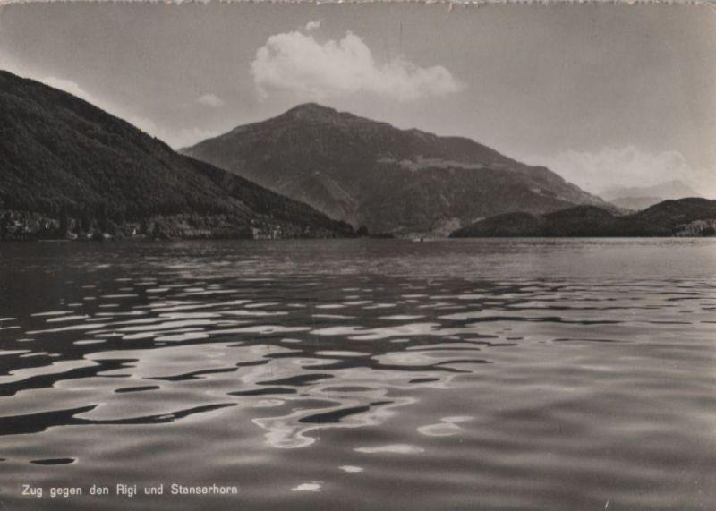 Schweiz - Schweiz - Zug - gegen den Rigi und Stanserhorn - ca. 1965
