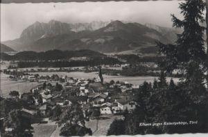 Österreich - Österreich - Kössen - gegen Kaisergebirge - 1966