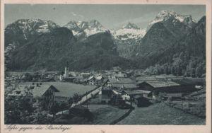 Österreich - Österreich - Lofer - gegen die Steinberge - ca. 1935