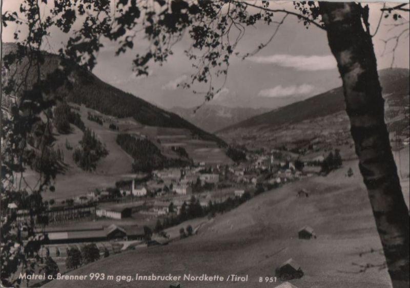 Österreich - Österreich - Matrei am Brenner - gegen Innsbrucker Nordkette - 1962