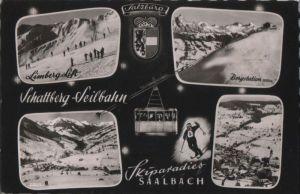 Österreich - Österreich - Saalbach - Schattberg-Seilbahn - ca. 1960