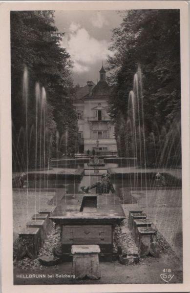 Österreich - Österreich - Salzburg, Hellbrunn - ca. 1955