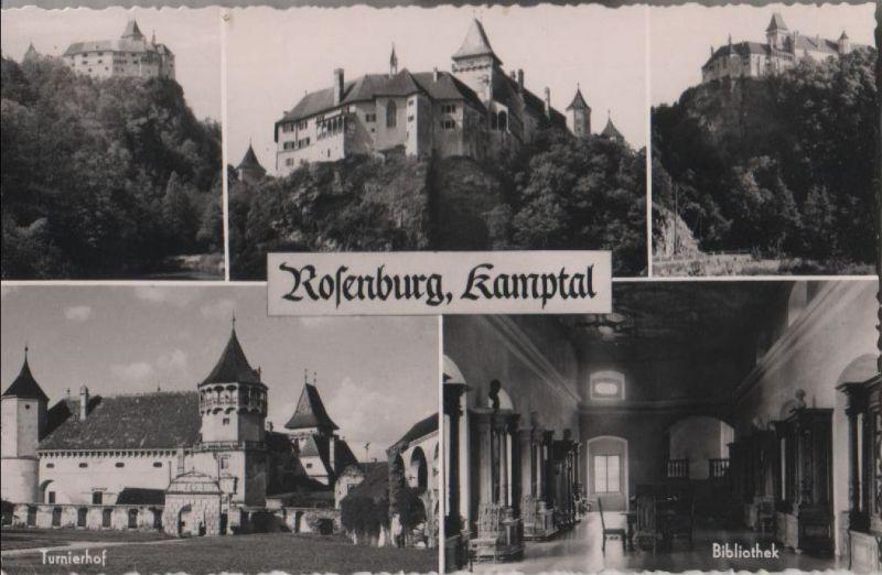 Österreich - Österreich - Rosenburg - 5 Teilbilder - ca. 1960