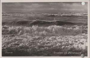 Niederlande - Niederlande - Zandvoort - Storm - ca. 1955