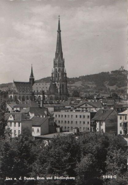 Österreich - Österreich - Linz - Dom und Pöstlingberg - ca. 1955