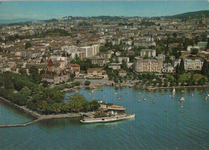 Schweiz - Schweiz - Lausanne - Ouchy, Vue generale - 1973