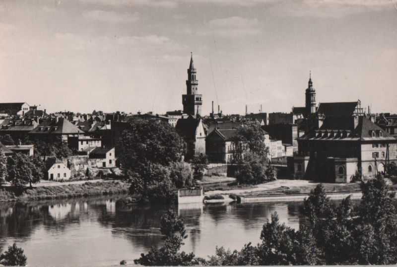 Polen - Polen - Opole - Widok ogolny - ca. 1960