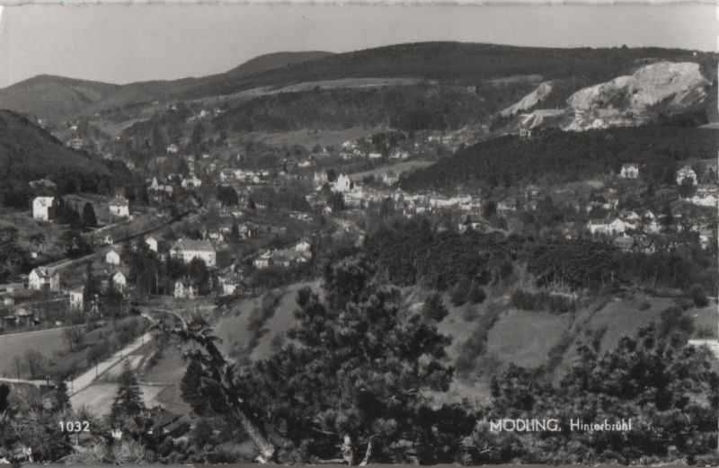 Österreich - Österreich - Mödling - Hinterbühl - 1968