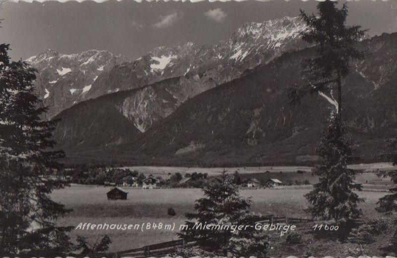 Österreich - Österreich - Wildermieming-Affenhausen - mit Mieminger Gebirge - 1951