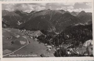 Österreich - Österreich - Serfaus - gegen Karlspitz - 1960