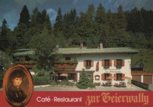 Österreich - Österreich - Elbigenalp - Cafe-Restaurant Zur Geierwally - ca. 1990
