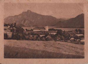 Österreich - Österreich - Mondsee - mit Schafberg - 1947