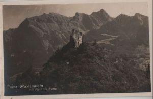 Österreich - Österreich - Wartenstein - Ruine mit Falknisskette - ca. 1950