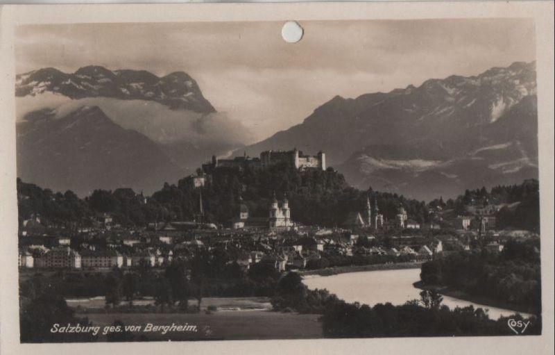Österreich - Österreich - Salzburg - gesehen von Bergheim - 1930