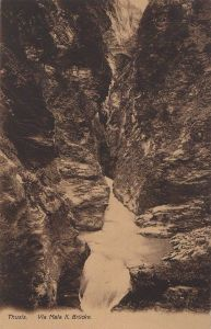 Schweiz - Schweiz - Thusis - Via Mala, II. Brücke - ca. 1935
