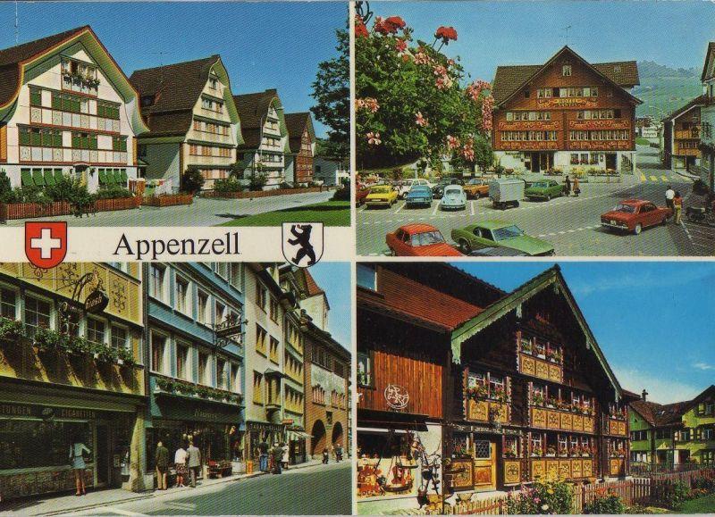 Schweiz - Schweiz - Appenzell - Malerische Dorfpartien - ca. 1985
