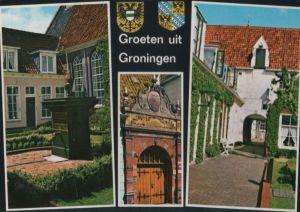 Niederlande - Niederlande - Groningen - 3 Teilbilder - 1979