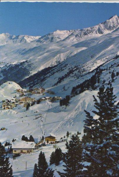 Österreich - Österreich - Sölden, Obergurgl - mit Steinmann Schilift - ca. 1980