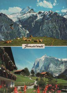 Schweiz - Schweiz - Grindelwald - 2 Teilbilder - ca. 1975