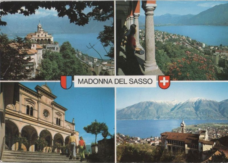 Schweiz - Schweiz - Orselina - Madonna del Sasso - ca. 1980