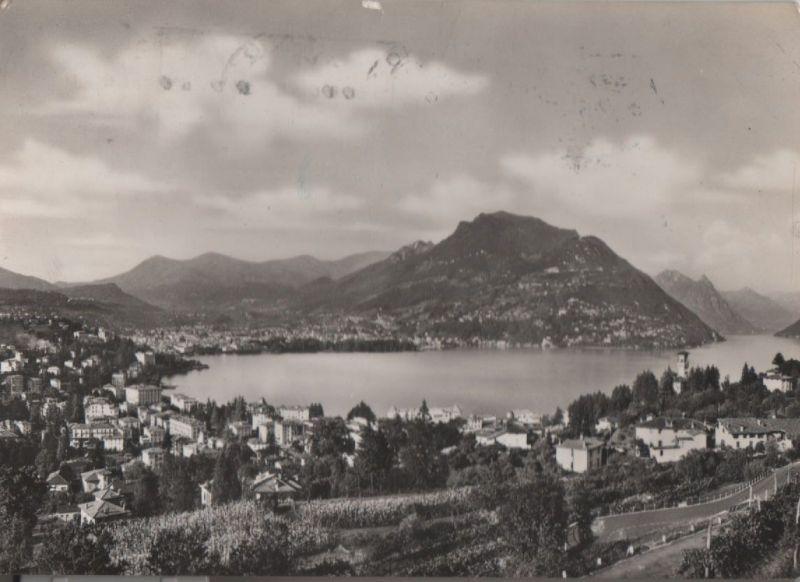 Schweiz - Schweiz - Lugano - Paradiso e Monte Bre - 1953