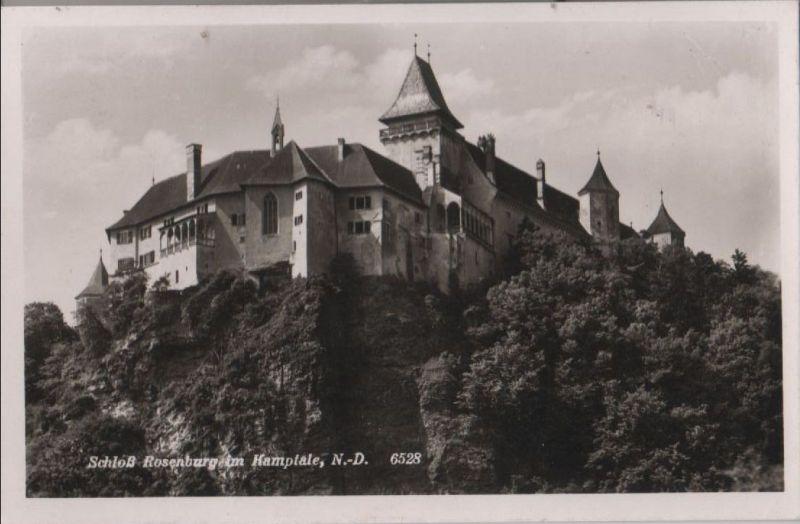 Österreich - Österreich - Rosenburg - Schloß im Kamptale - 1942
