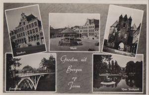 Niederlande - Niederlande - Bergen op Zoom - u.a. Gevangenpoort - ca. 1955
