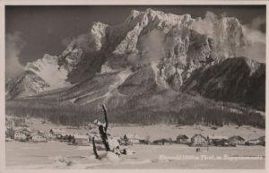 Österreich - Österreich - Ehrwald - mit Zugspitzmassiv - ca. 1950