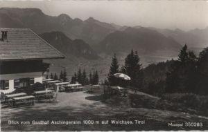 Österreich - Österreich - Walchsee - Blick vom Gasthaus Aschingeralm - 1969