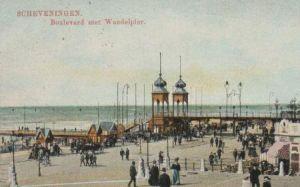 Niederlande - Niederlande - Scheveningen - Boulevard met Wandelpier - 1912