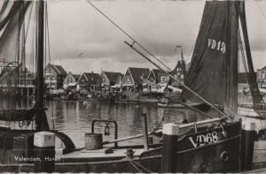 Niederlande - Niederlande - Volendam - Haven - ca. 1960