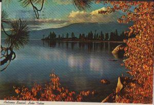 USA - USA - Lake Tahoe - Autumn Sunset - 1981