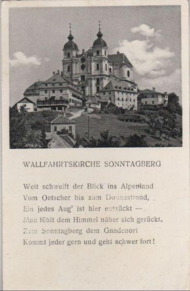 Österreich - Österreich - Sonntagberg - Wallfahrtskirche - 1961
